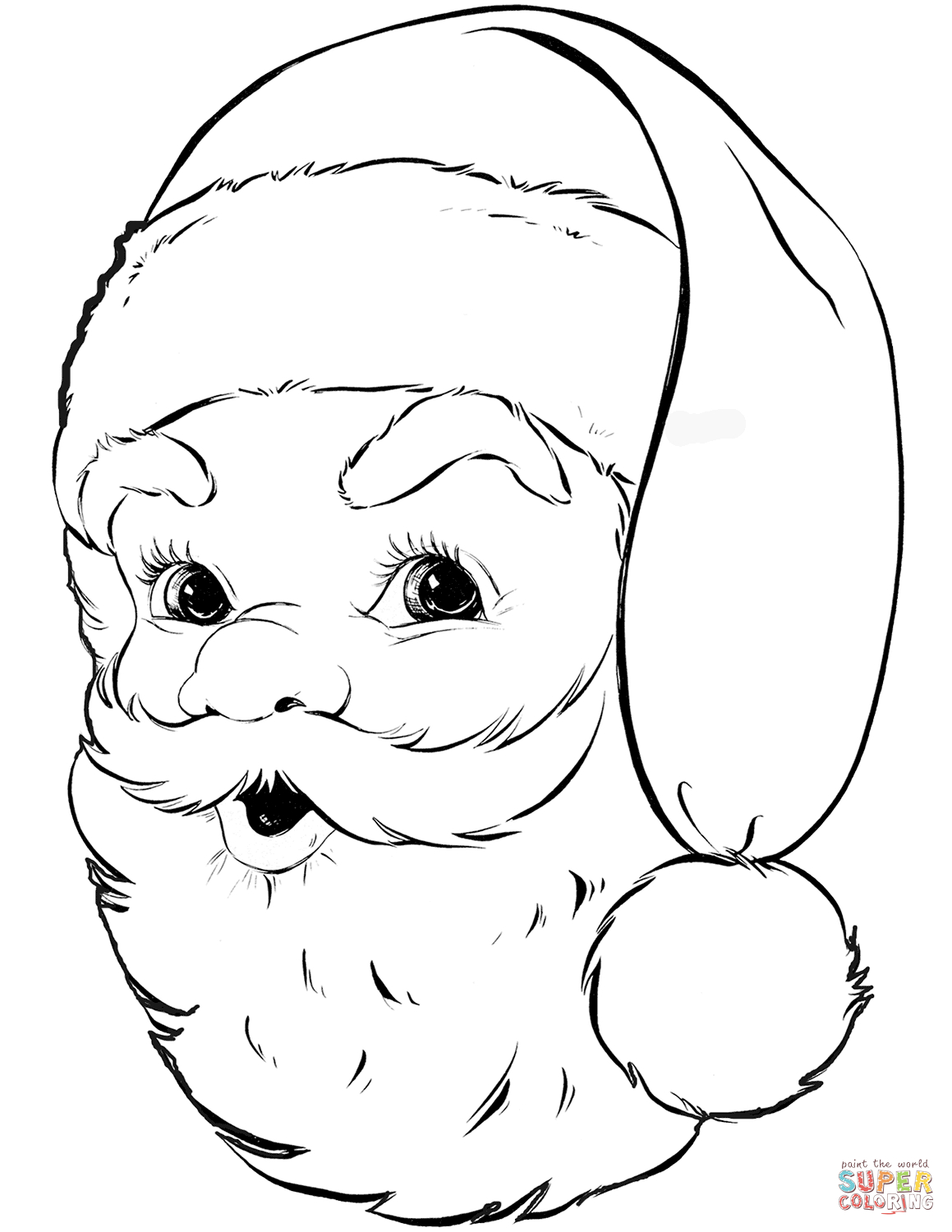 Santa Claus Coloring Pages | Free Coloring Pages - Santa Coloring Pages Printable Free