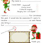 Santa Letter Templates   Kaza.psstech.co   Free Printable Dear Santa Stationary