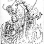 Saved Ghost Rider Coloring Pages Printable Coloring Panda, Prowess - Free Printable Ghost Rider Coloring Pages