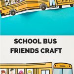 School Bus Of Friends Free Printable | Έναρξη Σχολικής Χρονιας   Free Printable School Bus Template