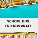 School Bus Of Friends Free Printable | Έναρξη Σχολικής Χρονιας   Free Printable School Bus Template