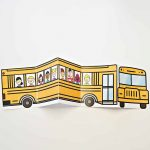 School Bus Of Friends Free Printable | Crafts | Templates Printable   Free Printable School Bus Template
