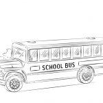 School Bus Printable Coloring Page Free | Coloring Pages   Free Printable School Bus Template