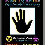 Science Scan To Enter Sign Printable Super Science | Etsy   Scan To Enter Sign Printable Free