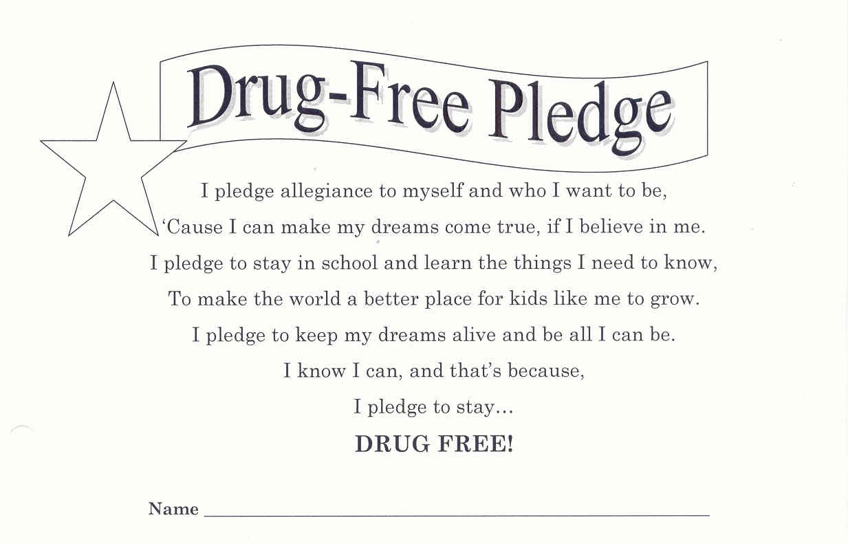 Screenyourteen | Advance Screening - Free Printable Drug Free Pledge Cards