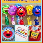 Sesame Street & Elmo Themed Birthday Party   Free Printable Sesame Street Food Labels