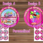 Shopkins Birthday Party, Shopkins Birthdaymagianrainbow On Zibbet   Free Printable Shopkins Thank You Cards