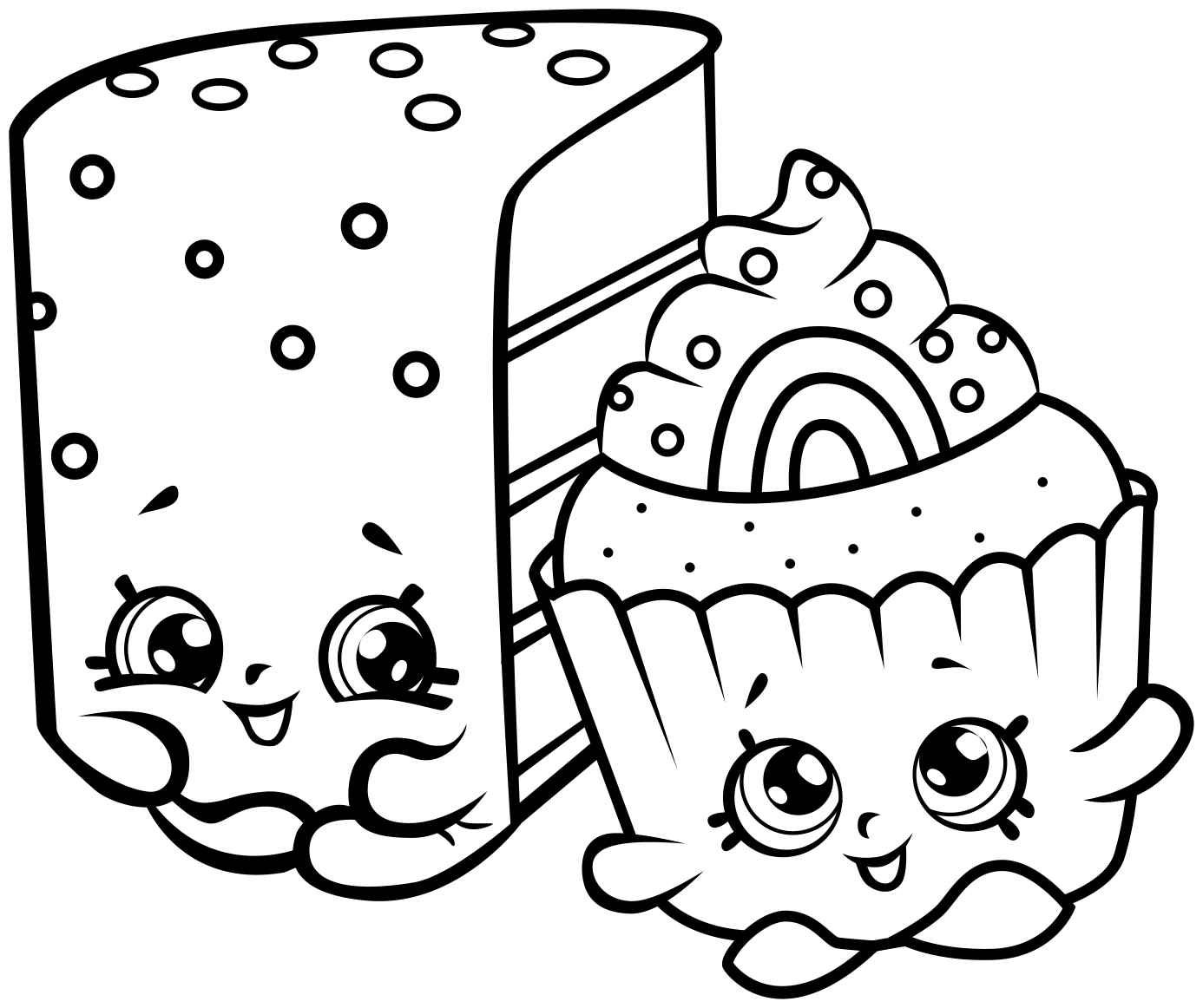 Shopkins Coloring Pages - Best Coloring Pages For Kids - Free Printable Coloring Pages