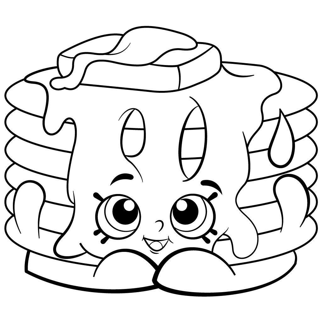 Shopkins Coloring Pages - Best Coloring Pages For Kids - Shopkins Coloring Pages Free Printable