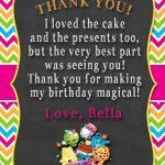 Shopkins Thank You Card | Shopkins 4 My Bianca! In 2019 | Shopkins   Free Printable Shopkins Thank You Cards