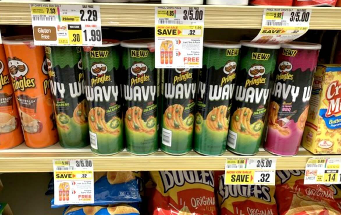 Shoprite Shoppers- $3.00 Diet Snapple 6Pks + 3 Free Pringles Chips - Free Printable Pringles Coupons