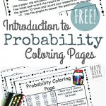 Simple Coloring Probability Worksheets For Grades 4-6 {Free} – Free Printable Probability Worksheets 4Th Grade