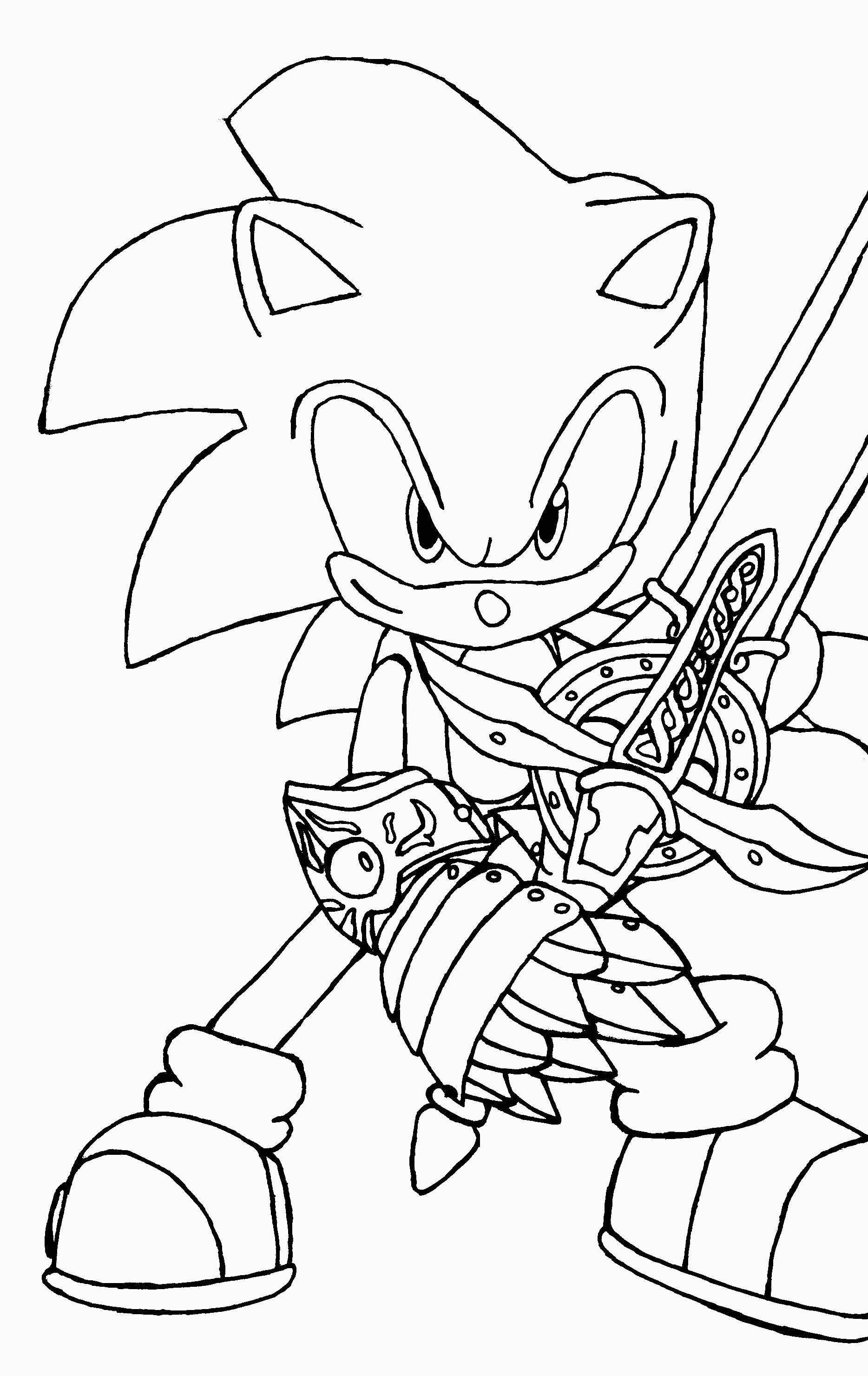Sonic Coloring Book | Printable Coloring Pages - Sonic Coloring Pages Free Printable