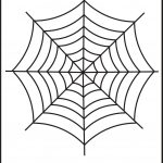 Spider Web Tracing – One Halloween Worksheets / Free Printable – Free Printable Spider Web