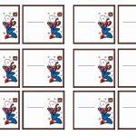 Spiderman Name Tags – Birthday Printable | Mom's Board | Birthday   Superhero Name Tags Free Printable