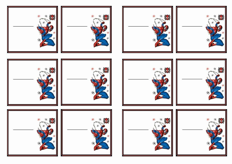 Spiderman Name Tags – Birthday Printable   Mom's Board   Birthday - Superhero Name Tags Free Printable