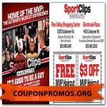 Sports Clips Coupon Printable For December | Sample Coupons For   Sports Clips Free Haircut Printable Coupon