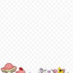Spring Stationery Themed Downloads Pg. 1   Free Printable Spring Stationery