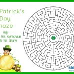 St Patrick's Day – Mazes – Free Printable – Free Printable St Patrick's Day Mazes