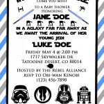 Star Wars Baby Shower Invite! So Cute For A Star Wars Themed Baby   Free Printable Star Wars Baby Shower Invites