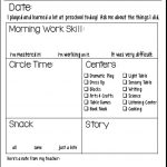 Students' Stuff | Preschool Fun | Preschool Daily Report, Preschool - Preschool Assessment Forms Free Printable