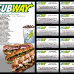 Subway Coupons And Codes Valid New Subway Restaurant (3) – Free Printable Subway Coupons 2017