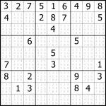 Sudoku Printable | Free, Medium, Printable Sudoku Puzzle #1 | My - Free Printable Sudoku 4 Per Page