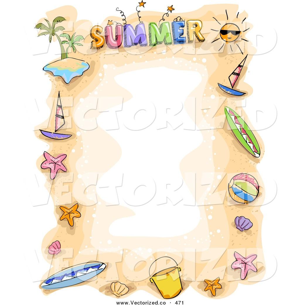 Summer Border Clip Art & Look At Clip Art Images - Clipartlook - Free Printable Summer Borders