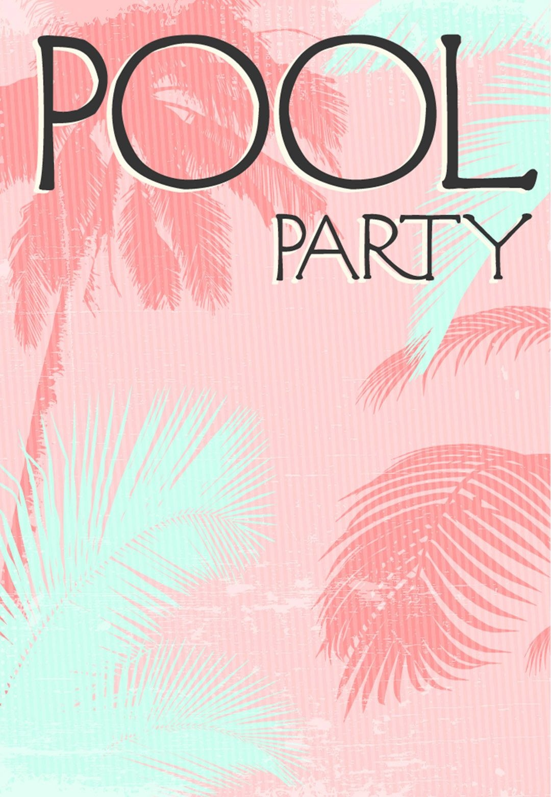 Summer #party Invitation - Free #printable Fun In The Sun - Pool Party Flyers Free Printable