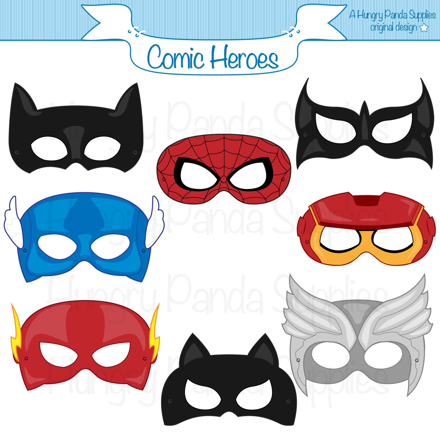 Super Hero Mask Template | Free Download Best Super Hero Mask - Free Printable Superhero Masks