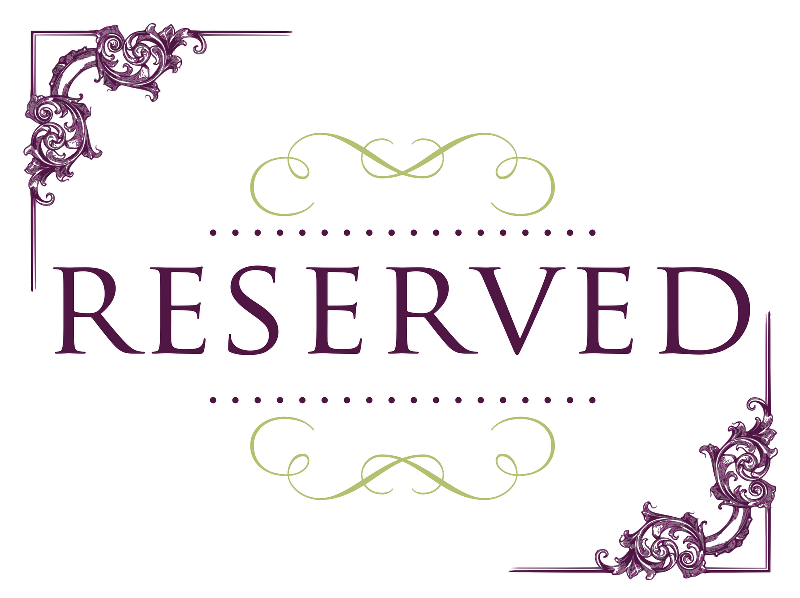 Superb Reserved Signs For Tables   Ideas For The House   Reserved - Free Printable Reserved Table Signs