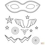 Superhero Mask Coloring Page | Free Printable Coloring Pages - Free Printable Superhero Masks