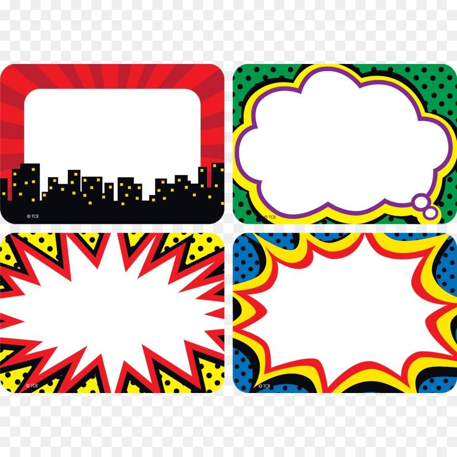 Superhero, Sticker, Label, Transparent Png Image & Clipart Free Download - Superhero Name Tags Free Printable