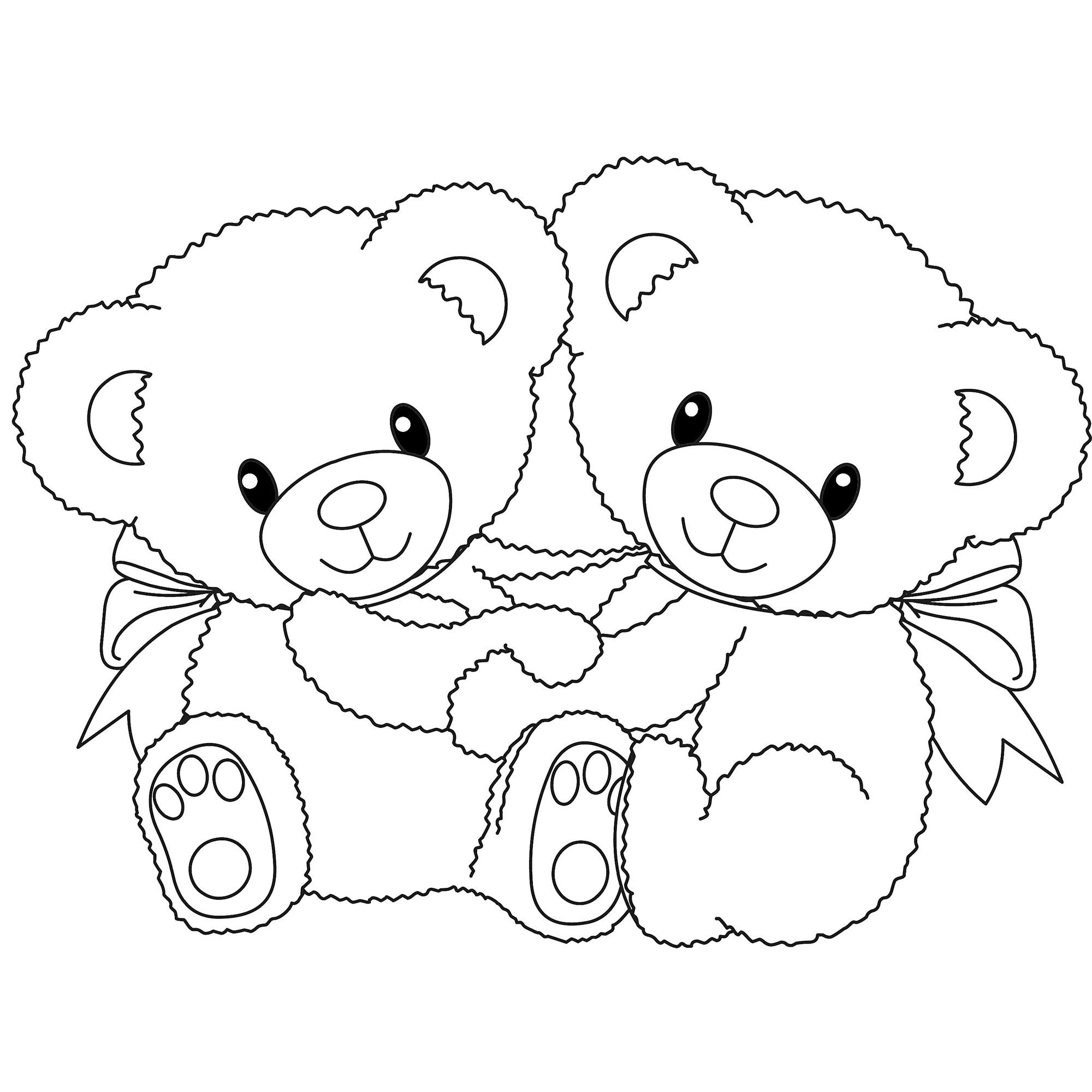 Teddy Bear Coloring Pages Free Printable Coloring Pages   Fun - Teddy Bear Coloring Pages Free Printable