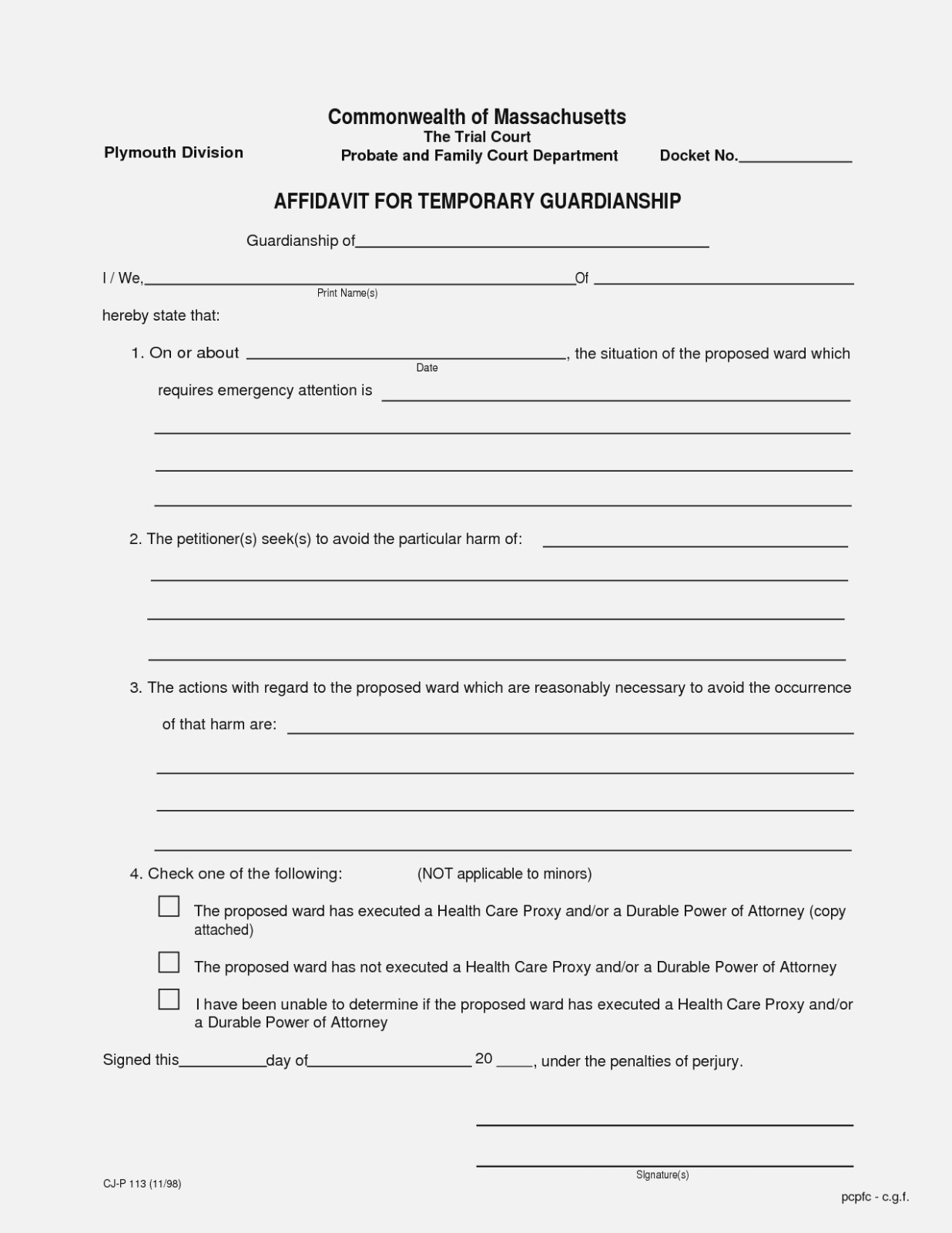 Ten Things You Probably | Realty Executives Mi : Invoice And Resume - Free Printable Child Guardianship Forms