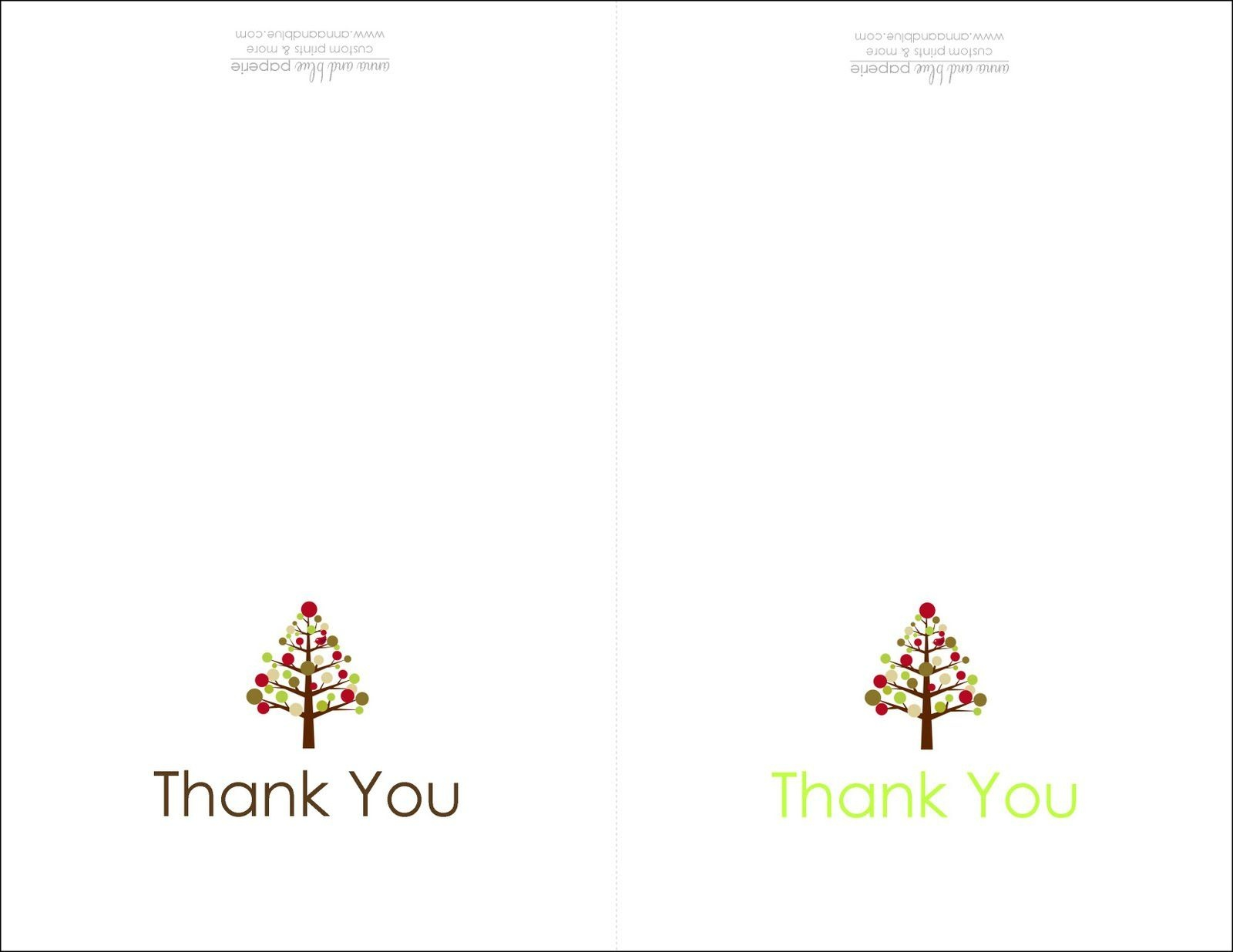 Thank You Cards Printable | Printable | Free Printable Christmas - Free Christmas Thank You Notes Printable