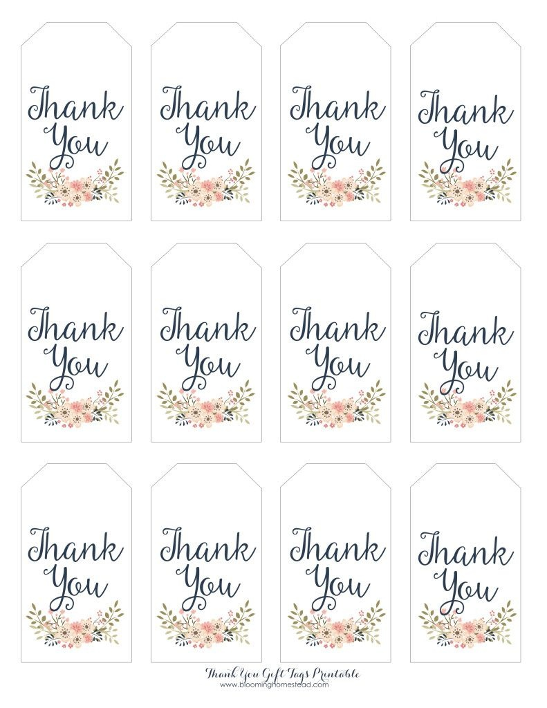 Thank You Gift Tags | Baby Girl Party Ideas | Thank You Tag - Thank You For Coming Free Printable Tags
