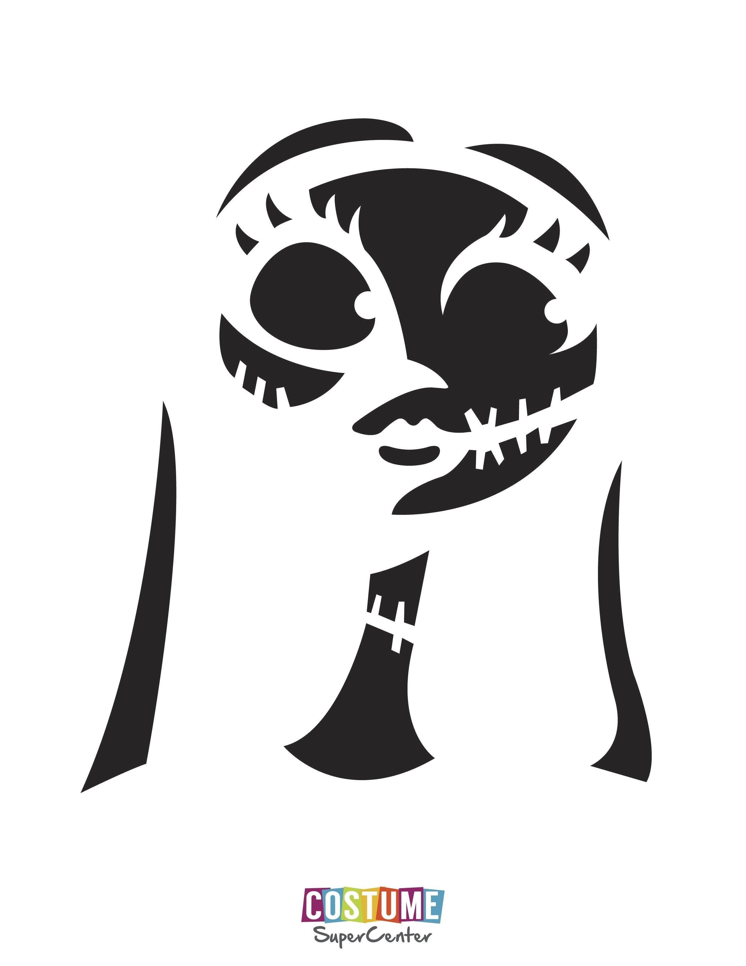 The Nightmare Before Christmas Pumpkin Stencils Free | Theveliger - Jack Skellington Stencil Free Printable