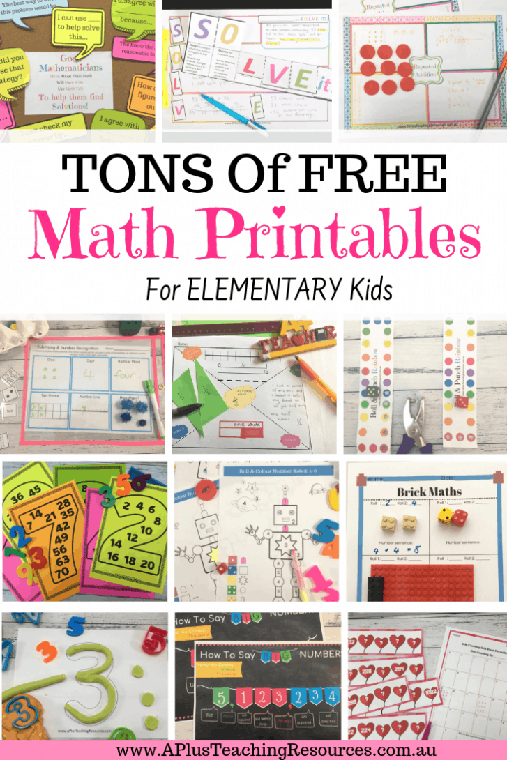 The Ultimate Collection Of Free Teacher Worksheets For Primary - Free Printable Preschool Teacher Resources
