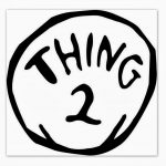 Thing 1 And Thing 2 Free Printable Template (77+ Images In   Thing 1 And Thing 2 Free Printable Template