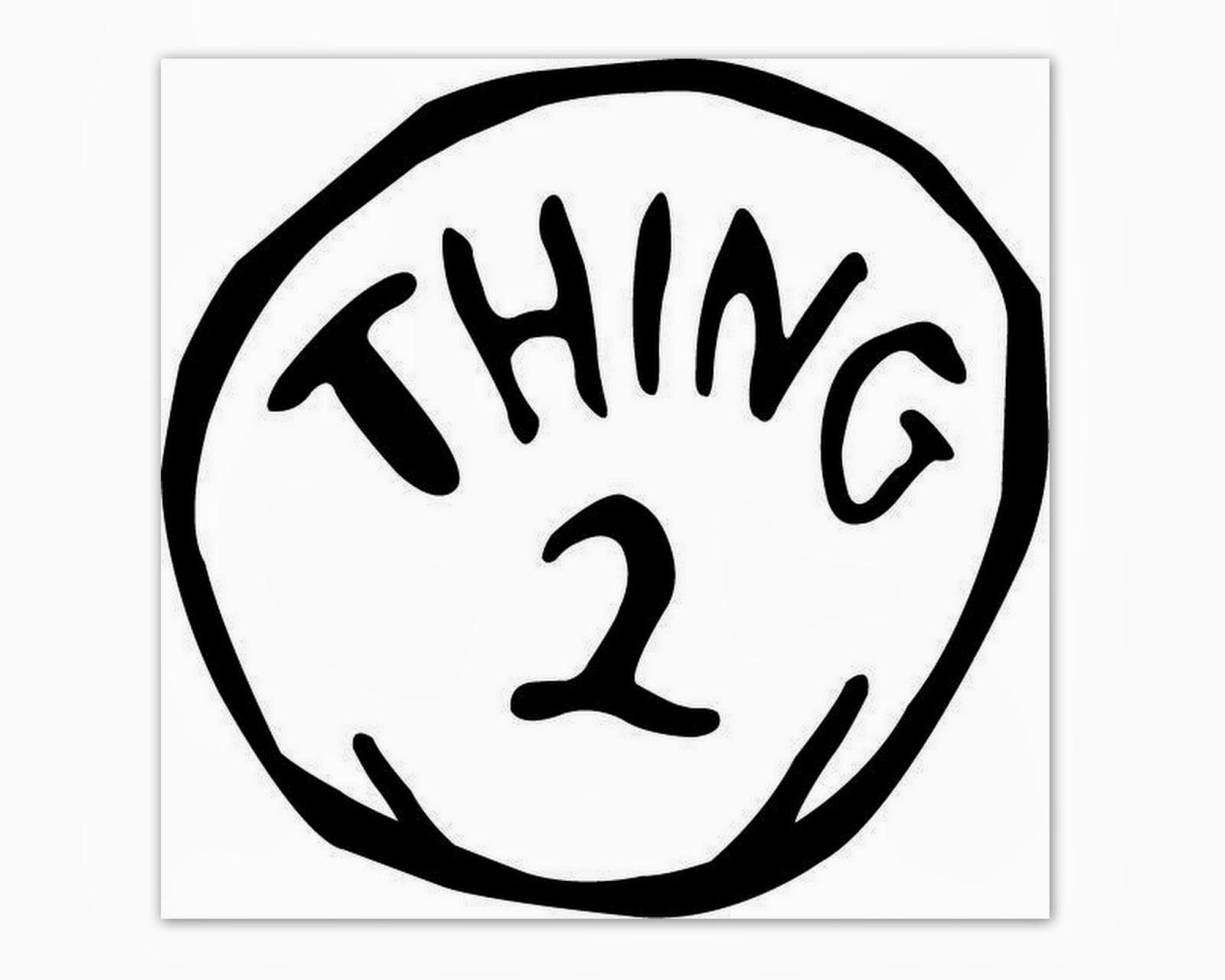 Thing 1 And Thing 2 Free Printable Template (77+ Images In - Thing 1 And Thing 2 Free Printable Template