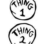 Thing 1 And Thing 2 Printable | Free Download Best Thing 1 And Thing   Thing 1 And Thing 2 Free Printable Template