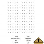 This Is A Free Printable Ten Commandments Word Find Puzzle For The – Free Catholic Ten Commandments Printable