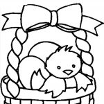Top 10 Free Printable Easter Basket Coloring Pages Online | Coloring   Free Printable Easter Basket Coloring Pages
