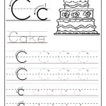 Trace The Letter C Worksheets | Alphabet And Numbers Learning   Free Printable Letter C Worksheets