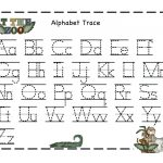 Tracer Pages Alphabet Tracer Pages A To Z Tracer Pages For Preschool   Free Printable Preschool Name Tracer Pages