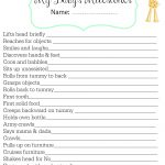 Track Baby's Major Milestones With This Free Printable - Free Printable Baby Memory Book