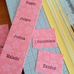 Tutorial & Freebie: Bible Tabs ~ From My Art Lab   Free Printable Bible Tabs