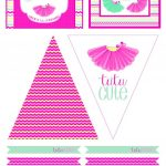 Tutu Party Free Printables | Perfect Birthday Or Playdate Theme <3   Play Date Invitations Free Printable