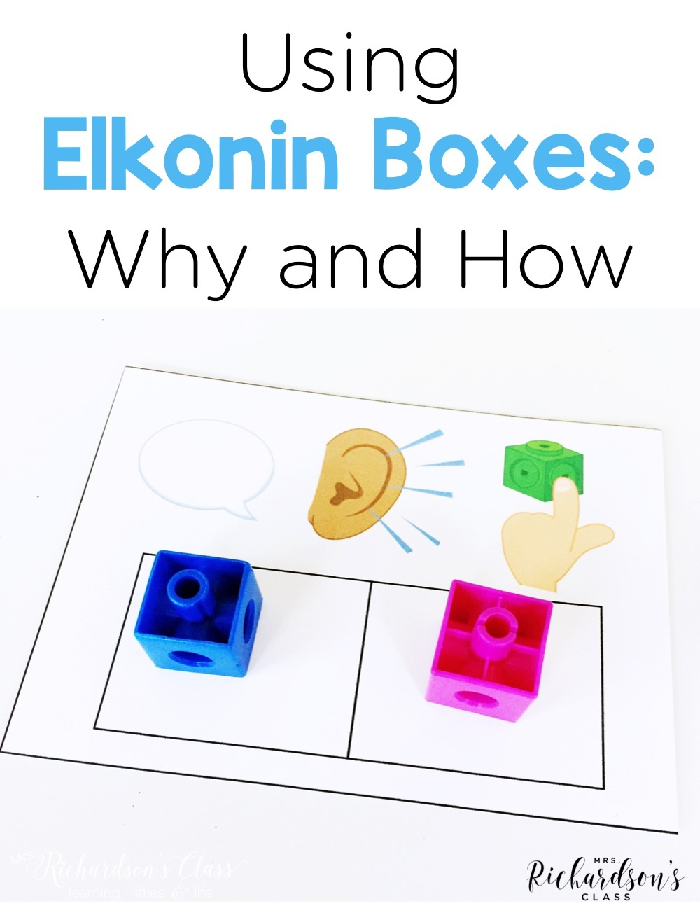 Using Elkonin Boxes - Mrs. Richardson's Class - Free Printable Elkonin Boxes